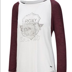 🔥💯 Roxy Women's BTS Raglan Shirt medium